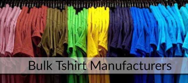 tshirts manufacturers