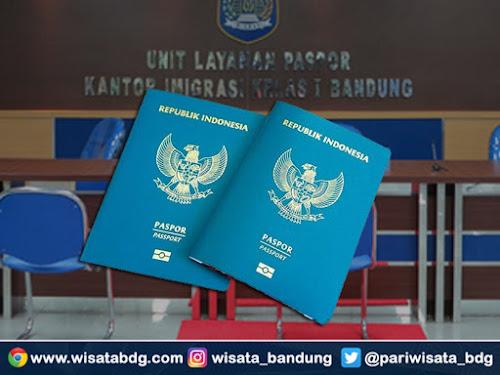 Cara membuat e-paspor imigrasi Bandung