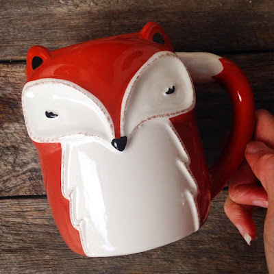 Cute Fox Coffee Mug - Coles Australia