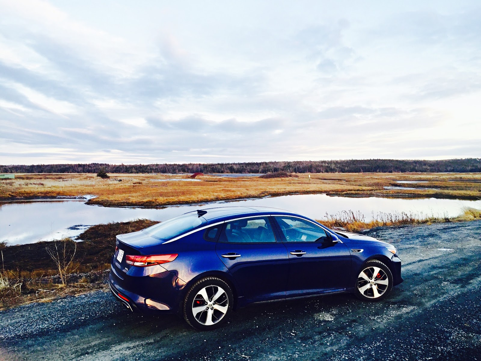 2016 Kia Optima Sxl Turbo Blue