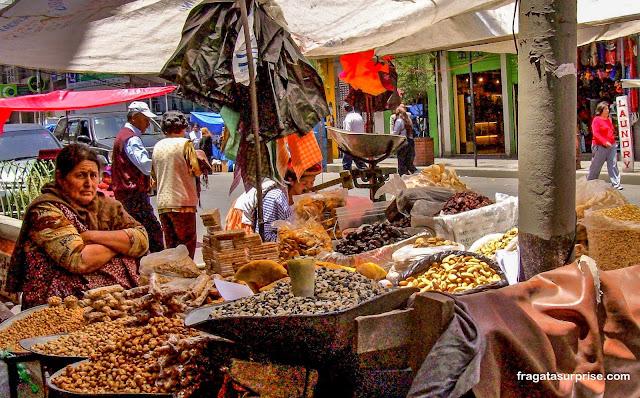 Mercado das Bruxas de La paz, Bolívia