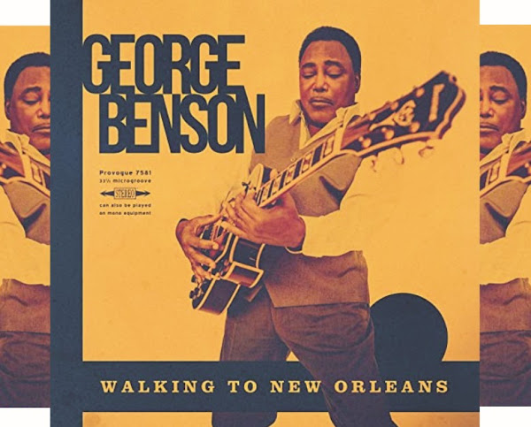 George Benson's Music: Walking to New Orleans (10-Track Album) - AAC/MP3 Songs: Rockin' Chair, You Can't Catch Me, Havana Moon, Blue Monday and More
