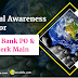 General Awareness for Canara Bank PO and IBPS Clerk Mains | 27th November 2018