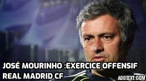 José Mourinho : Exercice Offensif (Real Madrid CF)
