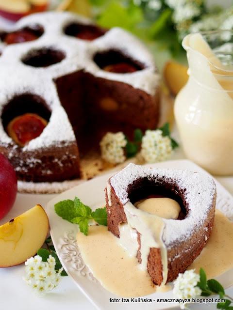 ciasto z jablkami, placek z owocami, jablka grojeckie, dobre bo polskie, moje wypieki, tak smakuje piekno, ciasto na niedziele, domowe ciasto, najlepszy przepis