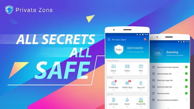 تحميل تطبيق Private Zone - AppLock, Video & Photo Vault 6.1.9 APK لحماية خصوصياتك