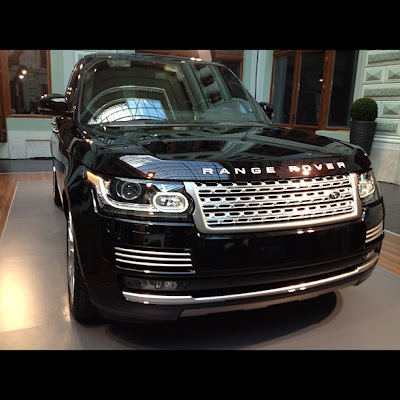 New Range Rover from Instagram