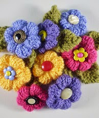 http://www.ravelry.com/patterns/library/woodland-wreath-fat-flowers