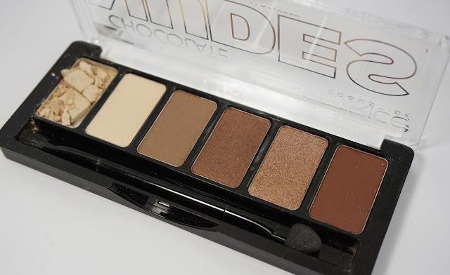 Catrice - Chocolate Nudes Eyeshadow Palette (inkl. AMUs)