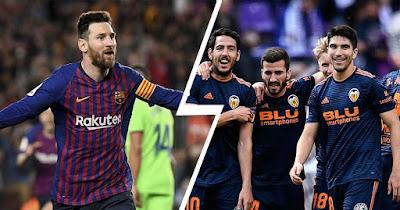 مشاهدة مباراة برشلونة وفالنسيا اليوم