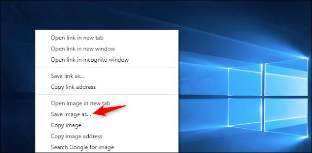 كيفية تنزيل الخلفية الافتراضية الأصلية لنظام التشغيل Windows 10