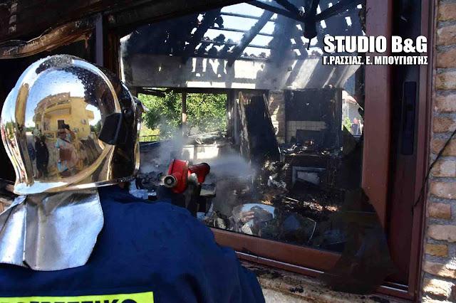 Παραλίγο παρανάλωμα του πυρός σε οικία στο Ναύπλιο