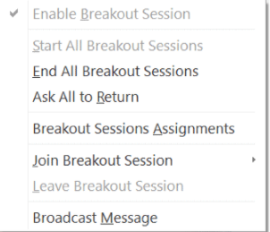 Co Host Breakout Session Capability