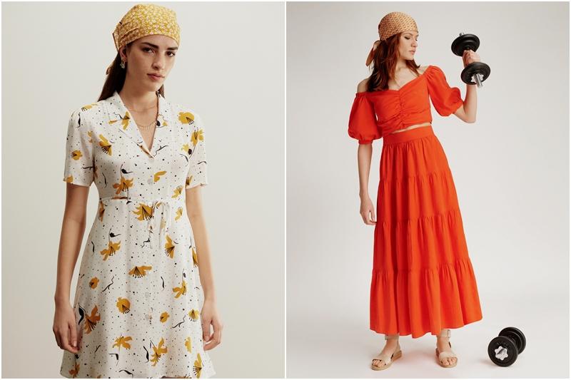 Kıpır kıpır  bir elbise koleksiyonu!