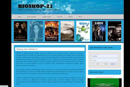 Download Aplikasi Bioskop Secara Gratis Mudah Untuk DI Gunakan Berbasis Web