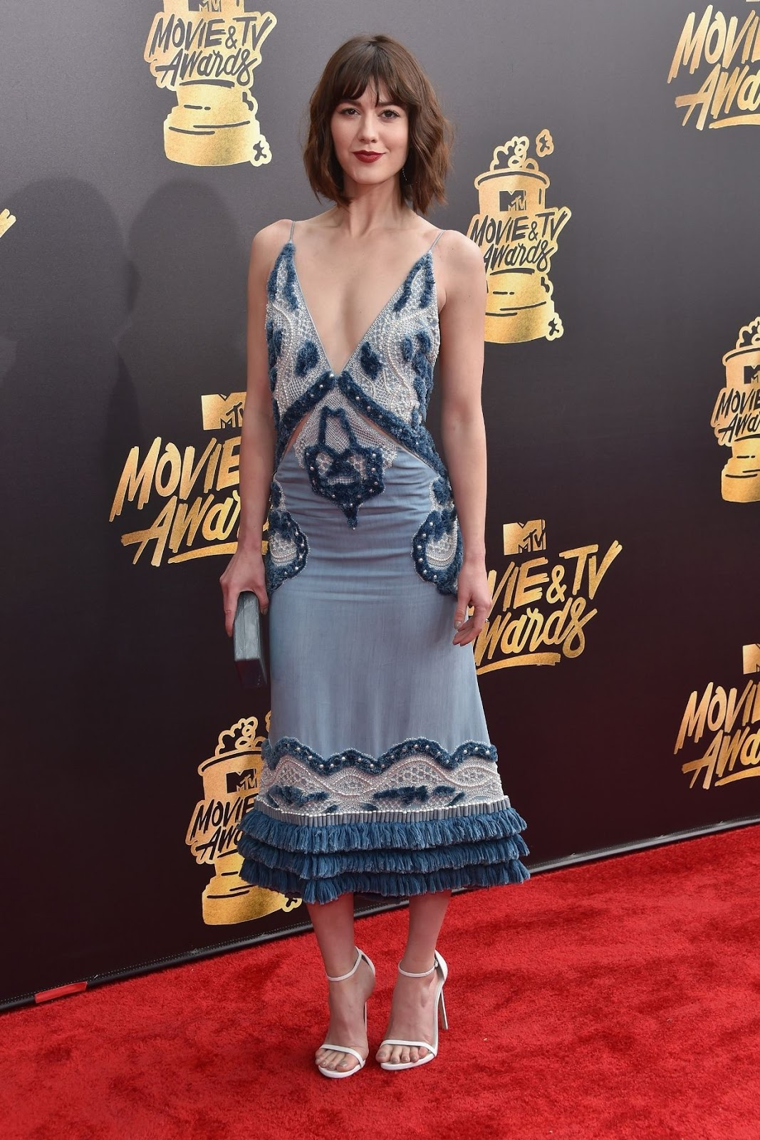 mtv movie awards 2017 mary elizabeth winstead