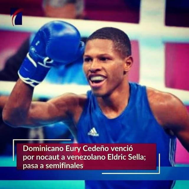 Queremos Medallas:  Dominicano Eury Cedeño sigue ardiente en los Juegos de Tokio