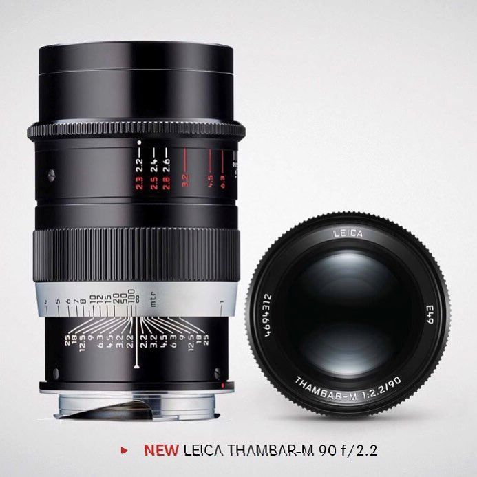Объектив Leica Thambar-M 90mm f/2.2