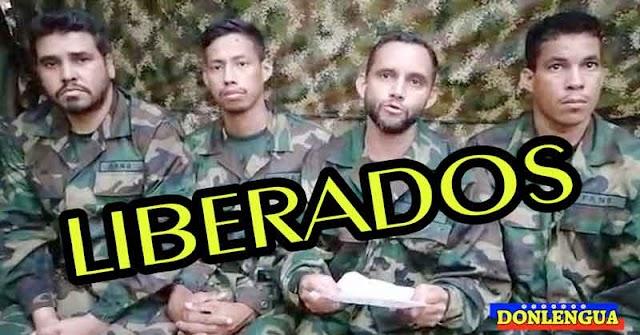 Liberaron a los 8 militares malandreados que estaban secuestrados en Apure
