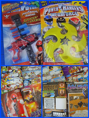 Bandai Power Rangers Super Megaforce magazine