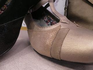 Detailing on shoe