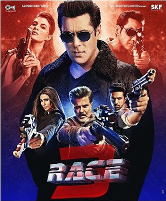 Race 3 2018 Hindi Pre-DVDRip 750Mb x264