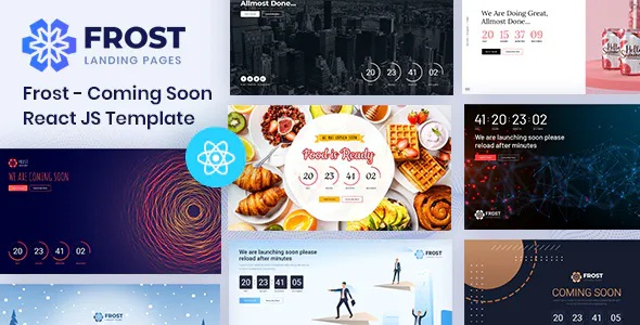 Best Coming Soon, Under Construction React Template