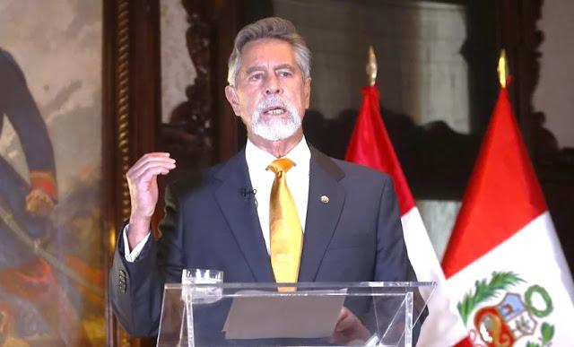 Presidente de la República, Francisco Sagasti