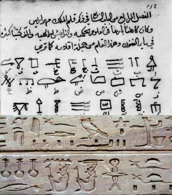 وحشية,ابن,اللغة,ابن وحشية,الهيروغليفية,تاريخ,رموز,علم التعمية,التشفير,القديمة