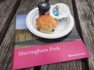 Sheringham scone