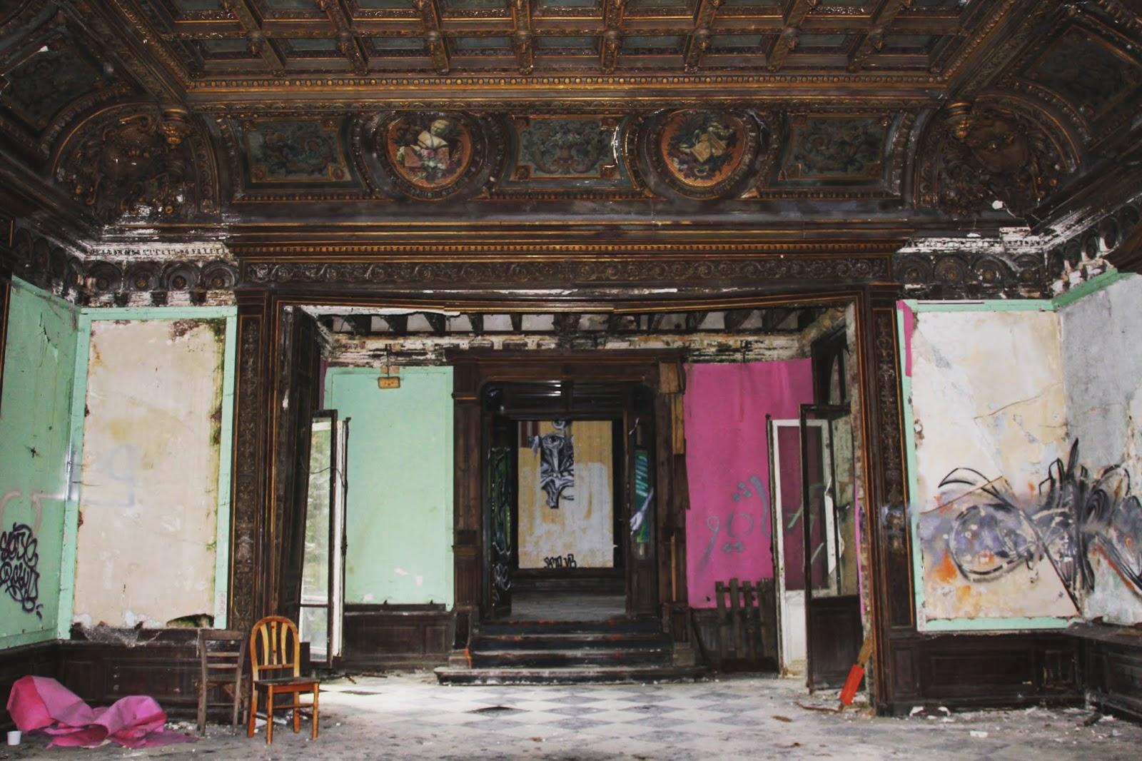 salle de réception du château