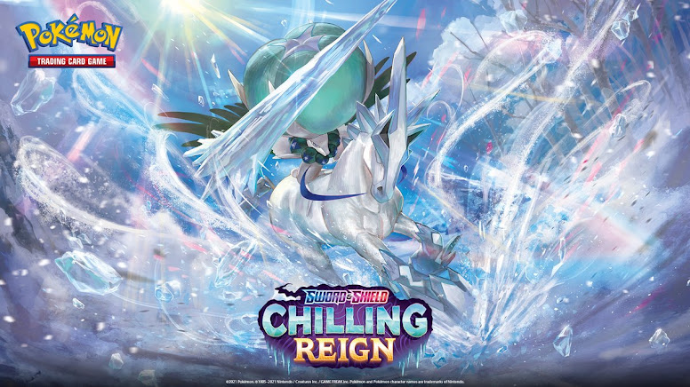 Pokémon TCG Calyrex Cavaleiro Glacial