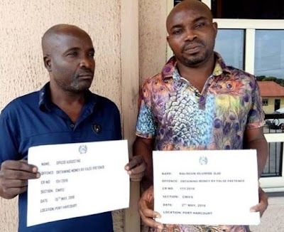 Two Fraudsters Arrested for Defrauding Man of N31million with Fake Prayers