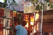 Sore Ini, Kebakaran Pada Pemukiman Padat Penduduk Di Wilayah Angke, Tambora