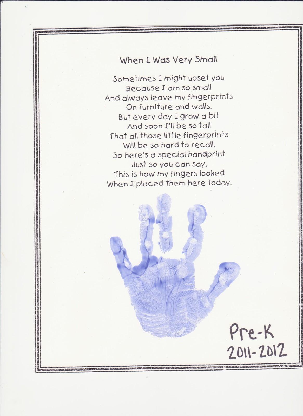 Lail Family S Life Preschool Poem