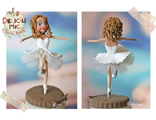 figurine tort handmade
