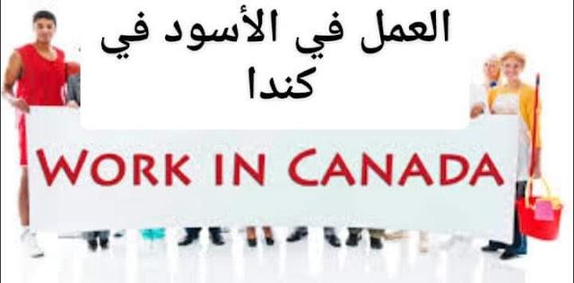 كيف تعمل في كندا