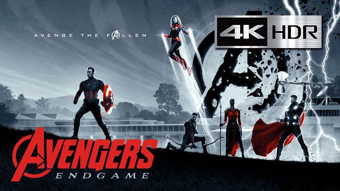 Avengers Endgame (2019) Bluray Completo 4K UHD [HDR] Latino