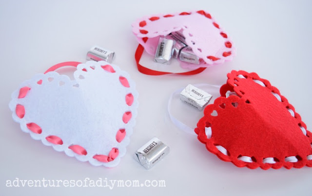 Valentine Treat Pouches