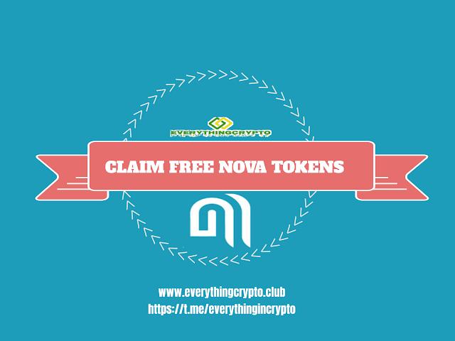 Claim Free Nova Tokens