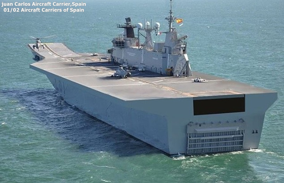 Cambodia Military Science : Spain Juan Carlos Aircraft CarrierSpanish Aircraft Carrier Juan Carlos
