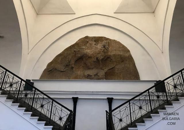 El caballero de Madara museo arqueológico Sofía Bulgaria