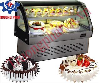 tủ trưng bày bánh kem