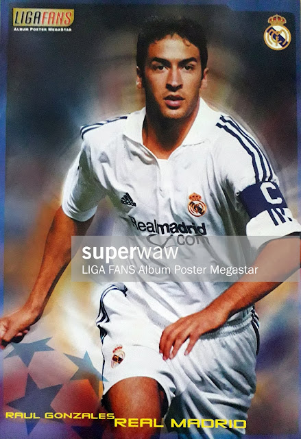 POSTER RAUL GONZALES (REAL MADRID)
