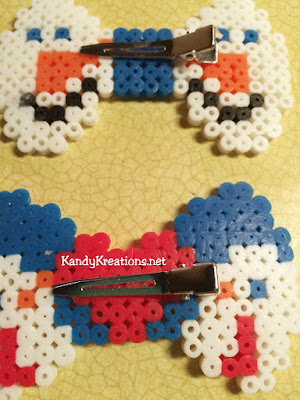 how to make perler bead bows