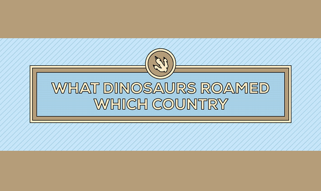 What Dinosaurs Roamed Which Countries