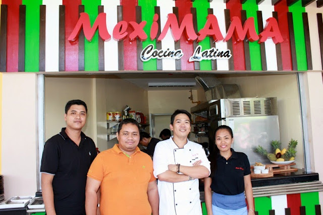 With Chef Dennis of Meximama