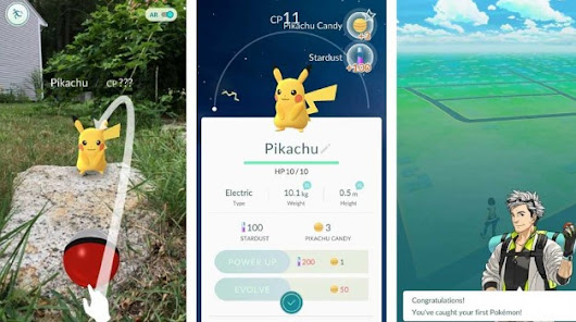 Android Games Pokemon GO APK V 0.29.2 Download