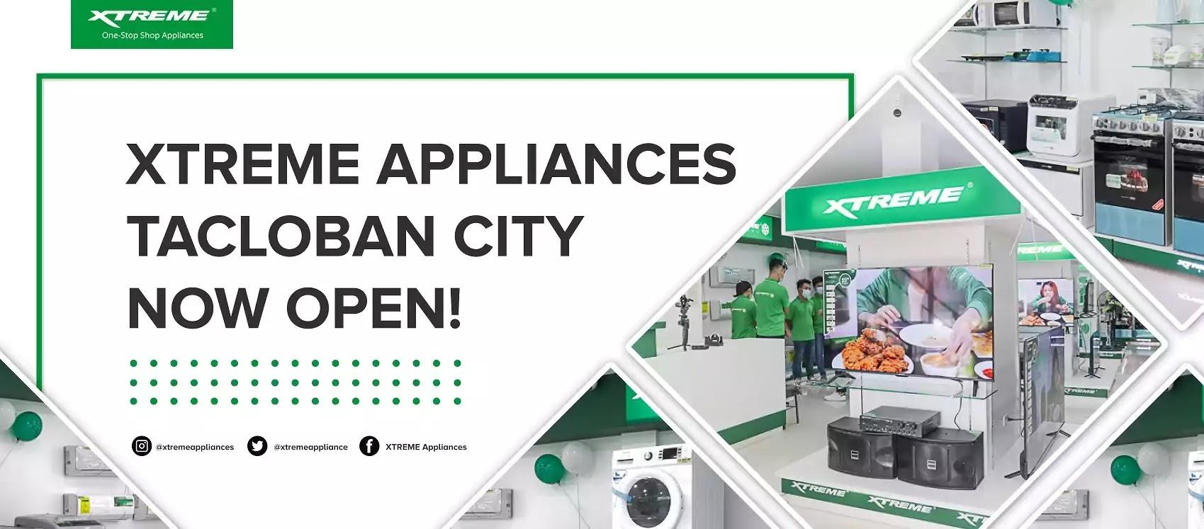 XTREME Appliance Tacloban City Now Open