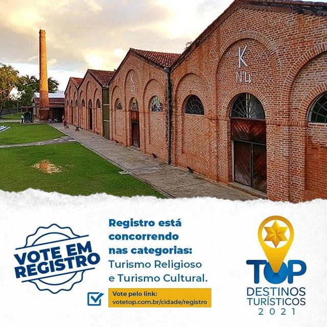 Registro-SP participa da premiação Top Destinos Turísticos nas categorias Turismo Cultural e Turismo Religioso
